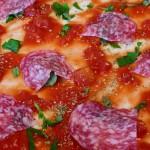 Pizza Salami – Rezept